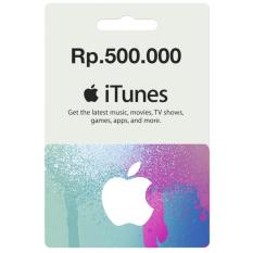 iTunes Gift Card Indonesia 500