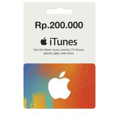 iTunes Gift Card Indonesia / IGC Rp. 200.000