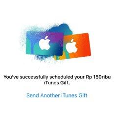 Jual Voucher Gift Card iTunes Indonesia  5979b67578