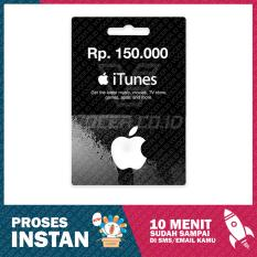 iTunes Gift Card Region Indonesia Rp. 150.000,-