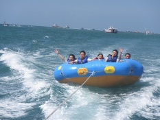 Nbc Watersport - Voucher Paket Watersport Flying Fish + Donut Boat Untuk 1 Orang By Nbc Watersport.
