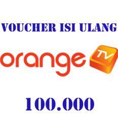 Orange TV Voucher 100.000 (Masukkan ID Pel di form alamat pengiriman)
