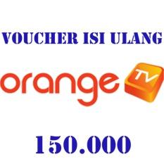 Orange TV Voucher 150.000 (Masukkan ID Pel di form alamat pengiriman)