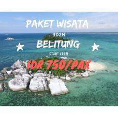 Paket Tour Hemat  3D2N  Belitung Cantik Tour