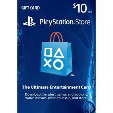 PlayStation Network (PSN) Card US Region $10 - Digital Code