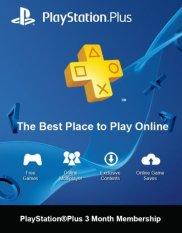 Playstation Plus Indonesia 3 Bulan  - Digital Code