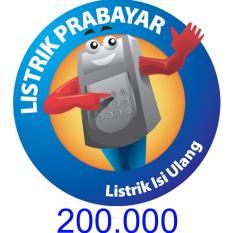 PLN Token Prabayar 200.000 (Cantumkan ID Meter di Alamat Pengiriman)