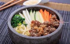 Samwon Express 1 Porsi Bulgogi Bibimbap + Soup + Ocha (Refill)