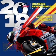 Tiket MotoGP Sepang 2018 2 - 4 November 2018 C2 Covered Hillstand