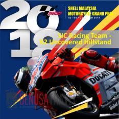 Tiket MotoGP Sepang 2018 2 - 4 November 2018 SIC Racing Team – K2 Uncovered Hillstand