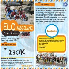 Tour Package Elo Rafting Magelang 1 Days