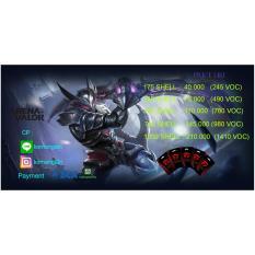 Garena AOV ( Arena Of Valor ) 330 ShellIDR140000. Rp 210.000