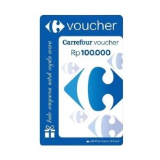 Voucher Carrefour @100.000