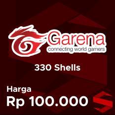 Voucher Garena 100000 (330 Shells)