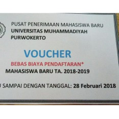 Voucher Pendaftaran By Dizashop.