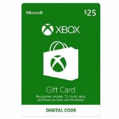 XBox Live Gift Card (US) $25 - Digital Code