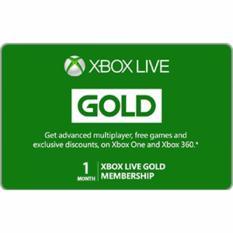XBOX Live Gold Membership (Global) 1 Bulan - Digital Code