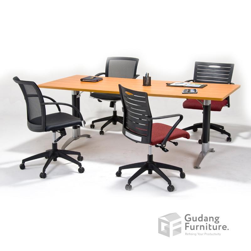 Meja Meeting Kantor Aditech NFD 94-Beech
