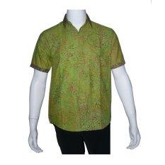 Ulasan Mengenai Batik Solo Bo5007 Kemeja Batik Pria Motif Daun Hijau
