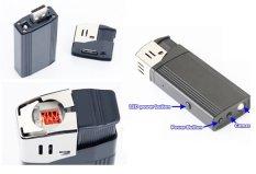 Jual Uniqtro Spycam Real Lighter 5 Mp Hitam Online West Sumatra