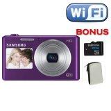 Jual Samsung Dv 150F Wifi Dan Dual Lcd Ungu Memori 8 Gb Indonesia