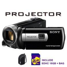 Harga Termurah Sony Dcr Pj 6 Projector Memory 16Gb Dan Tas Hitam