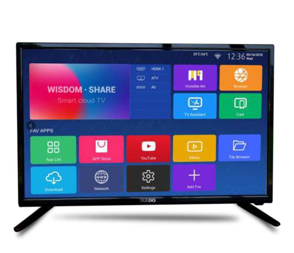 THE NEW SMART TV IKEDO 32inch - SMART TV IK-32D12S. GARANSI 5 TAHUN