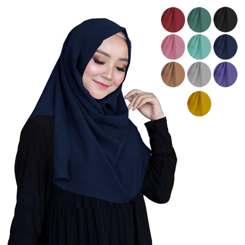Hijab Jilbab Kerudung Pashmina Instan Pasmina Instant Pastan Sala Syari Diamond Large Terbaru 2019 Trend Lebaran Murah Tangan Pertama
