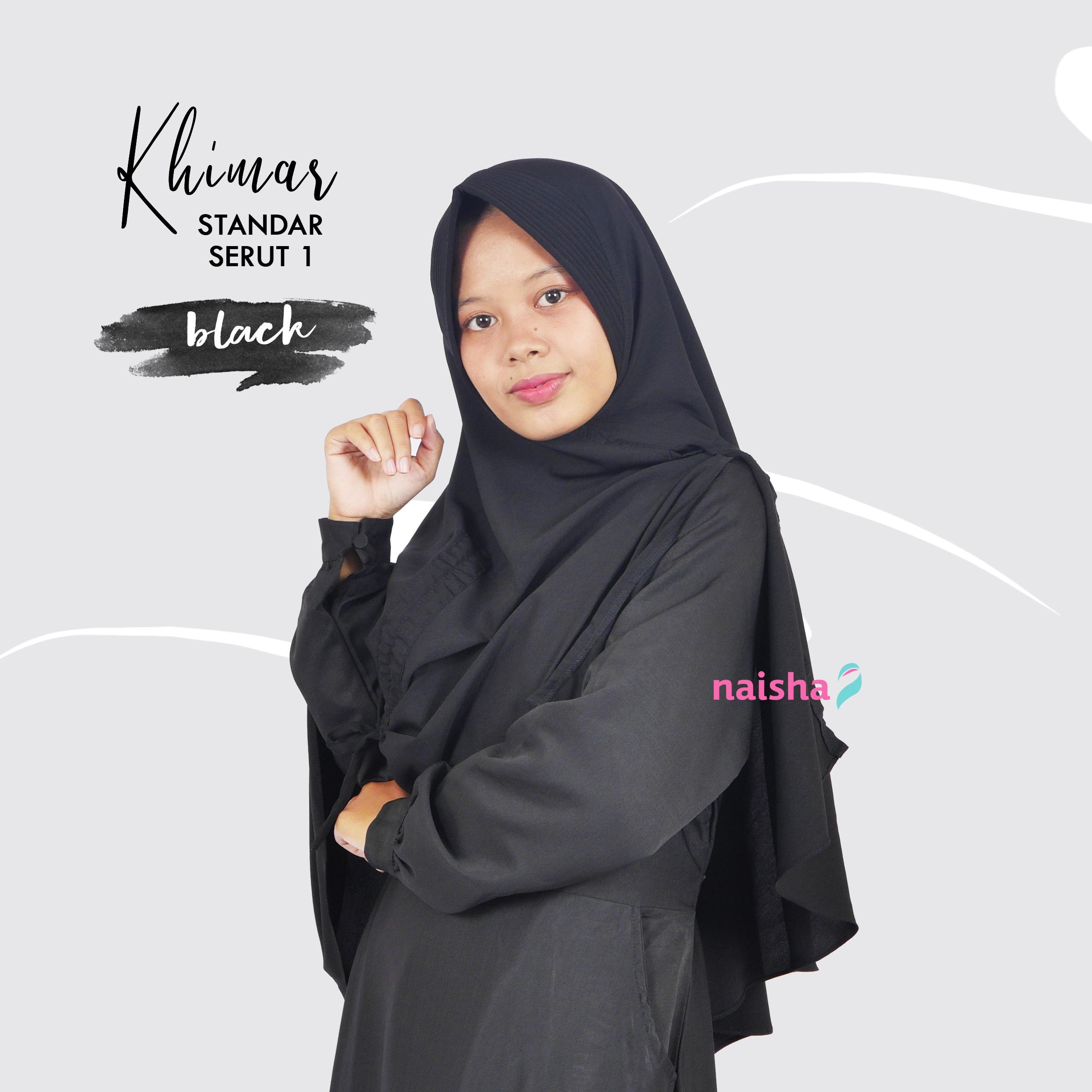 Khimar Naisha Serut 1