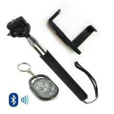 Beli Klikgadget Paket Hemat Monopod Dan Kamera Remote Bluetooth Ipega Hitam Pakai Kartu Kredit