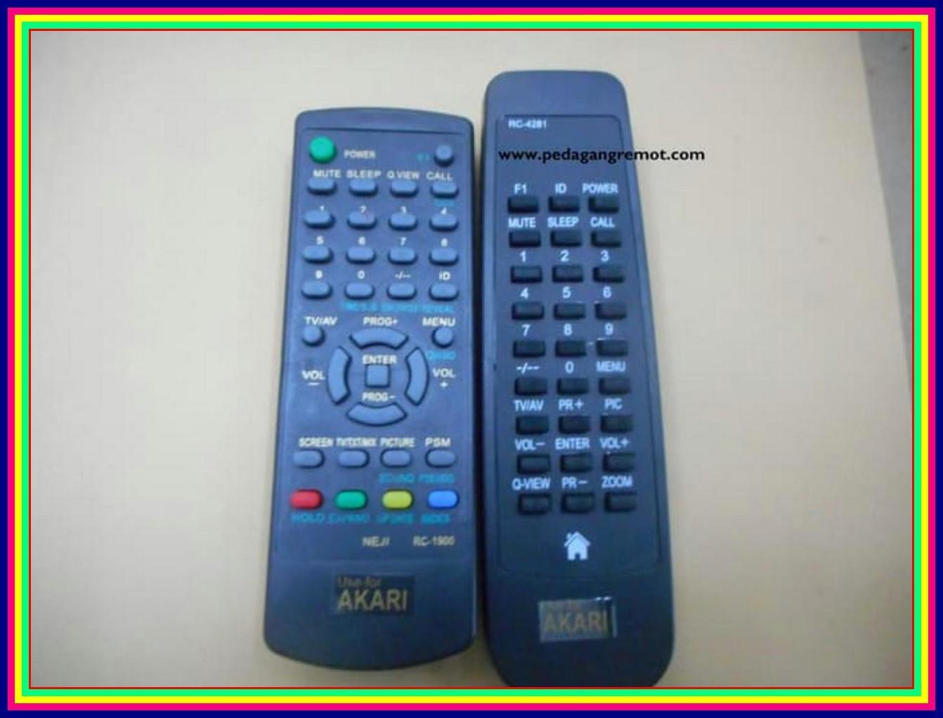 Remot/Remote TV Tabung Akari