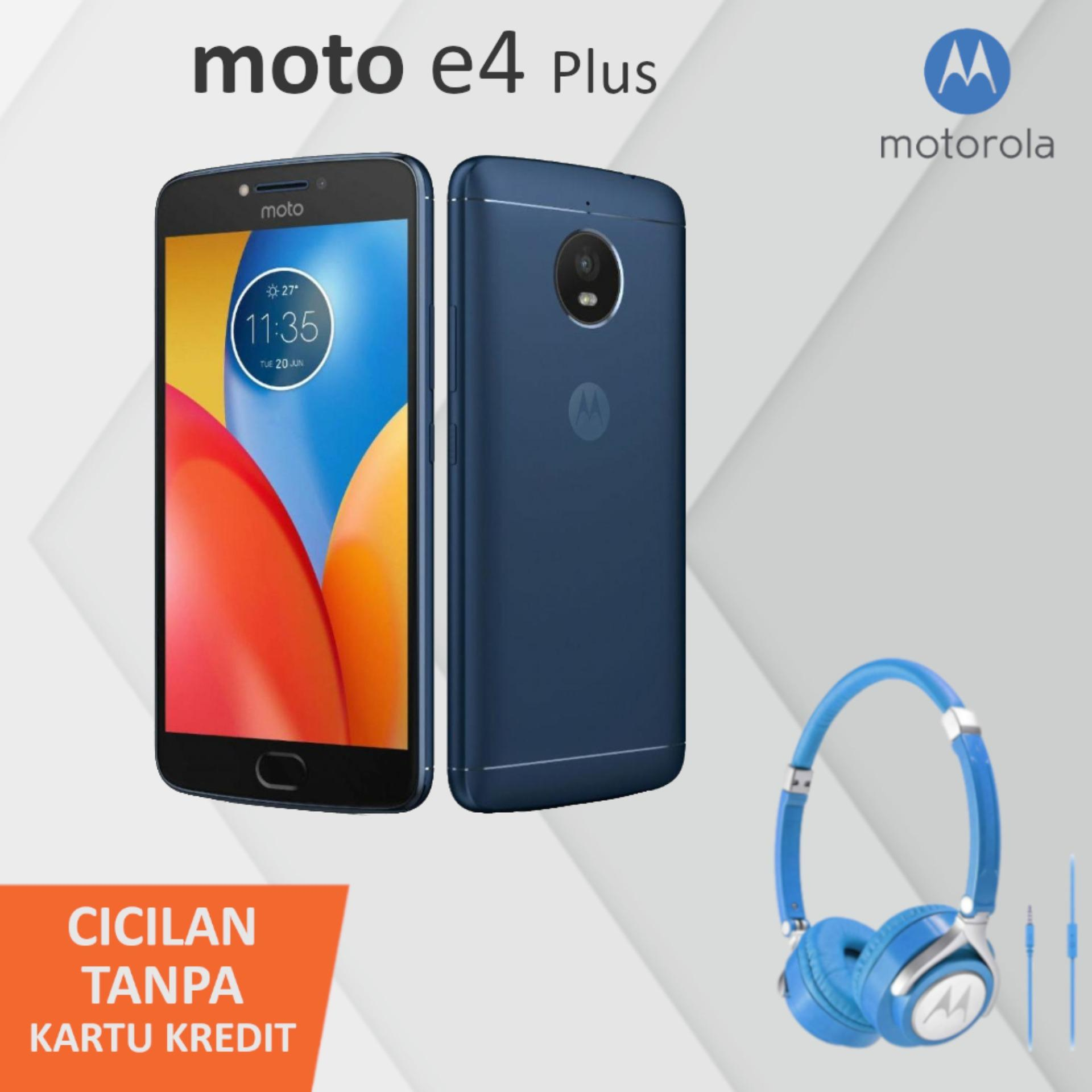 Motorola Moto E4 Plus 4G LTE Snapdragon™ 427 32GB 13MP + 5MP 5000mAh Fingerprint + Free Pulse 2 Headphone