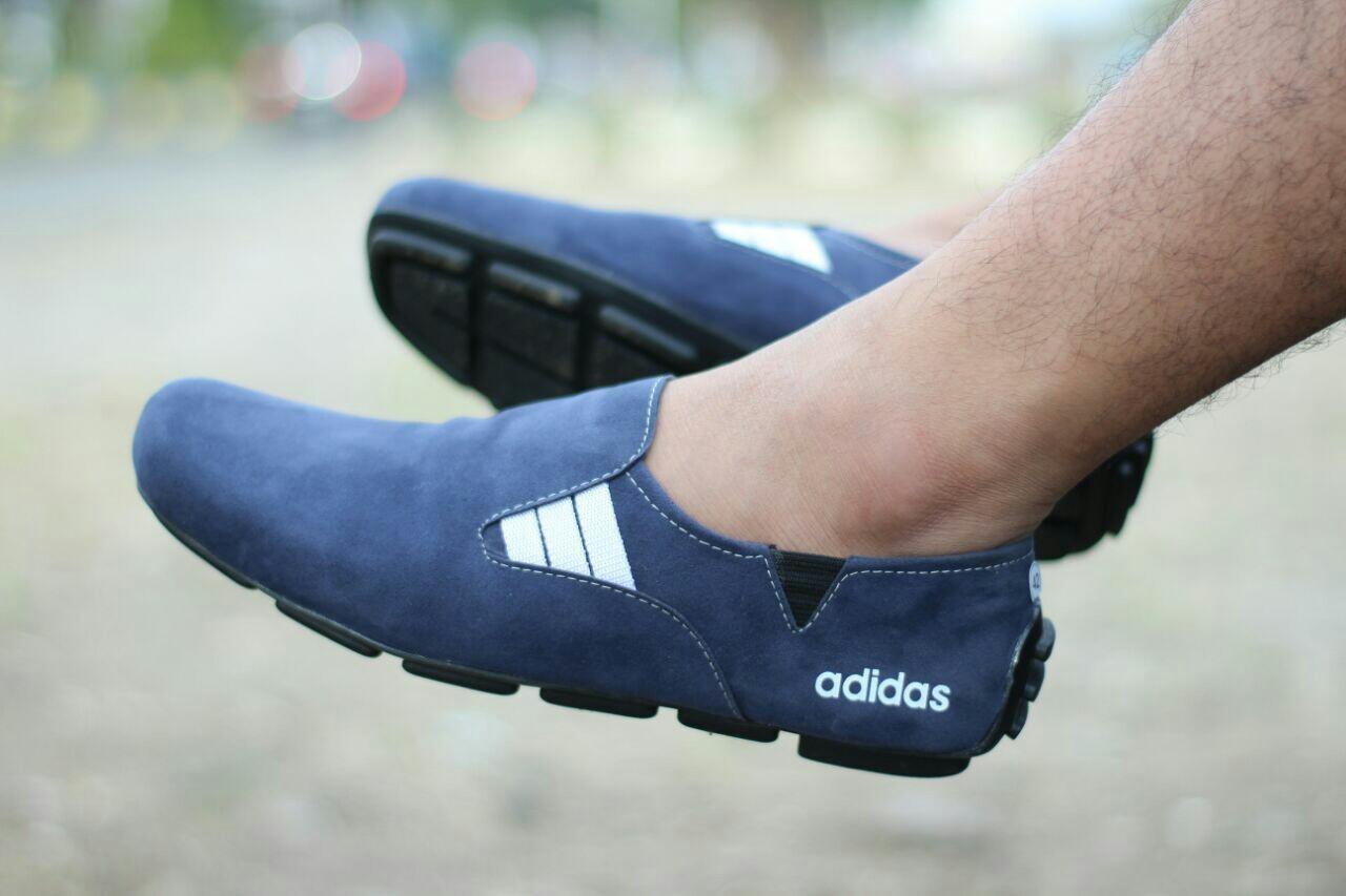 Sepatu Casual slip on New Myland Sued Leather (Sepatu Olahraga, Sepatu Kerja, Sepatu