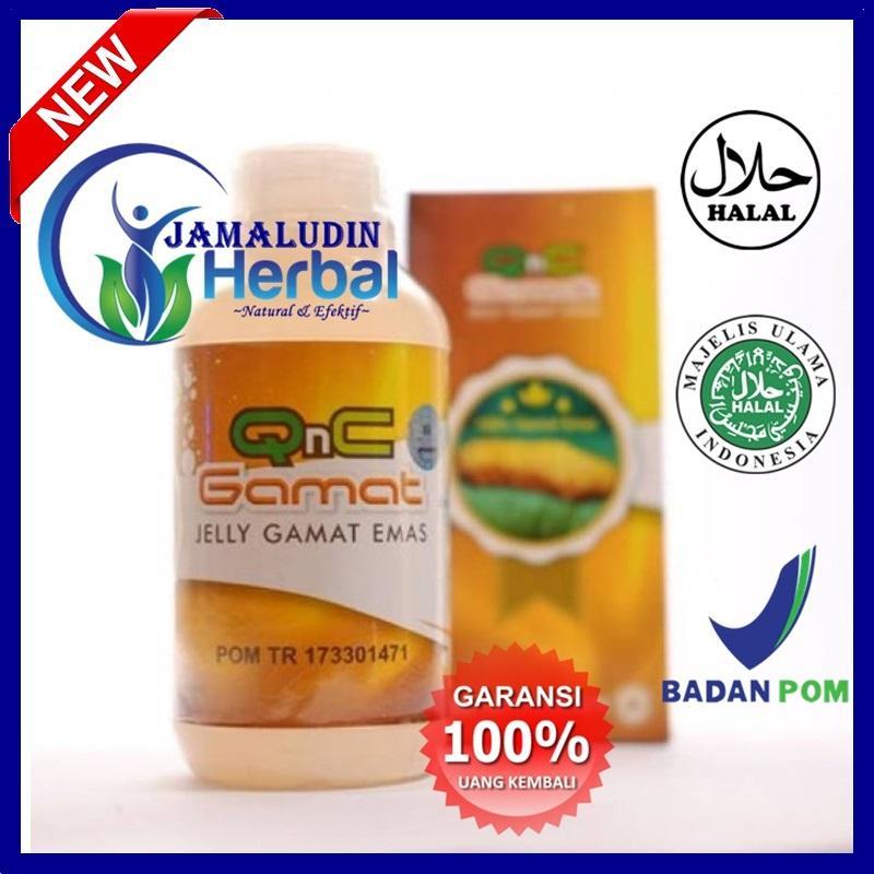 Obat Herbal Bopeng Jerawat - Obat Bekas Jerawat - Jerawat Wajah - Jerawat Punggung - QnC Jelly Gamat ASLI Original