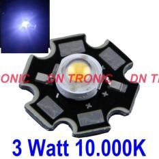 1 Set 3 Watt 10000K Putih Cool White Hpl High Power Led Super Bright - C3baa5