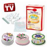 Harga 100Pcs Cake Decorating Kit Penghias Kue Tart Termurah
