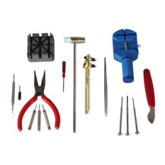 16pcs Alat Service Jam Tangan - Watch Repair Tool Set