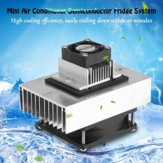 1 Pcs DC12V Semiconductor Kulkas/Pendinginan Sistem Pendingin DIY Kit Mini Air Conditioner-Intl