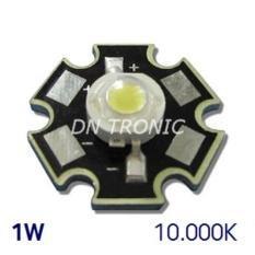 1Set Hpl 1W 10000K-15000K High Power Led Cool White Putih 1Watt - Ca3373