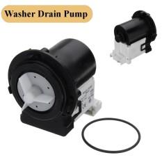 2 Pcs Air Drain Pump & Motor untuk LG Electronics Washer Mesin Cuci 4681EA2001T-Intl