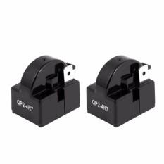 4.7 OHM 1 PIN Kulkas PTC Starter Relay Qp2-4R7 Hitam Pak 2-Intl
