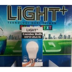 5Watt 10Jam Bohlam Lampu Combo Emergency Otomatis Light+ - Eaa9ac