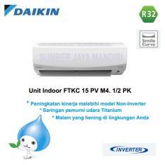 Harga Ac Daikin Split Ftkc15Pvm4 1 2 Pk Inverter Putih Online Dki Jakarta