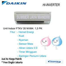 Ac Daikin Split FTKV35NVM 1,5 PK (HIGH INVERTER) - Putih