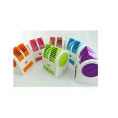 Ac Duduk Double Mini Fan Portable Blower Kipas Usb