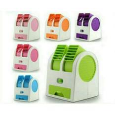 Ac Duduk Double Mini Fan Portable Blower Kipas Usb ORIGINAL