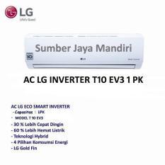 Ac LG Split Inverter T10EV3 1PK- Putih Khusus Jakarta