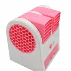 Toko Ac Mini Fan Portable Usb Air Conditioner Ac Duduk Portable Pink Indonesia