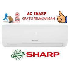 AC Sharp 1 PK AH-A9UCY Original Garansi Resmi 1th (FREE ONGKIR, SUDAH PASANG)
