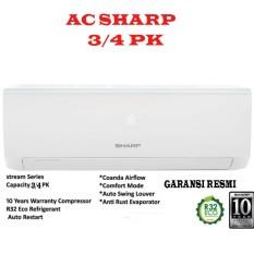 AC Sharp Split AH-A7UCY 3/4PK - Putih GARANSI RESMI